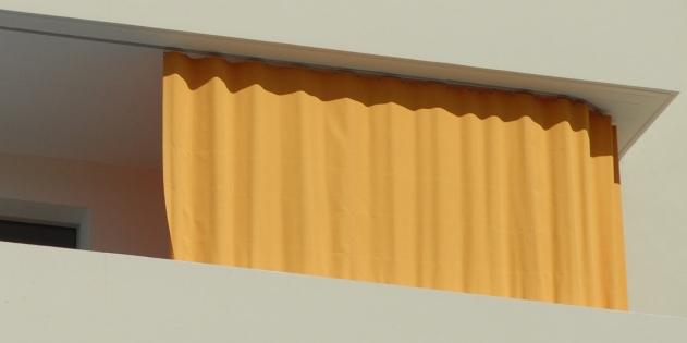 renova roll ag balkonvorh nge outdoor vorh nge. Black Bedroom Furniture Sets. Home Design Ideas